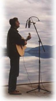 Rob-singing on Okanagan Lake