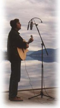 Rob-singing on Okanagan Lake