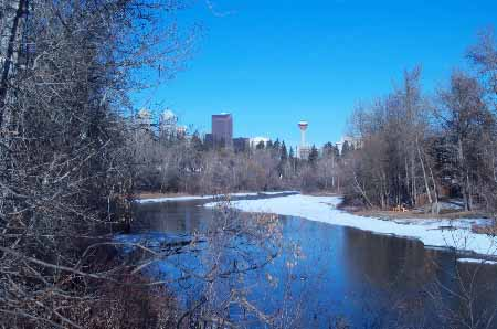 Elbow River, Calgary